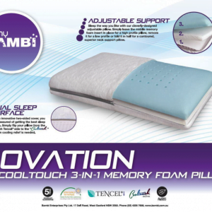 Ovation CoolTouch Flip Pillow
