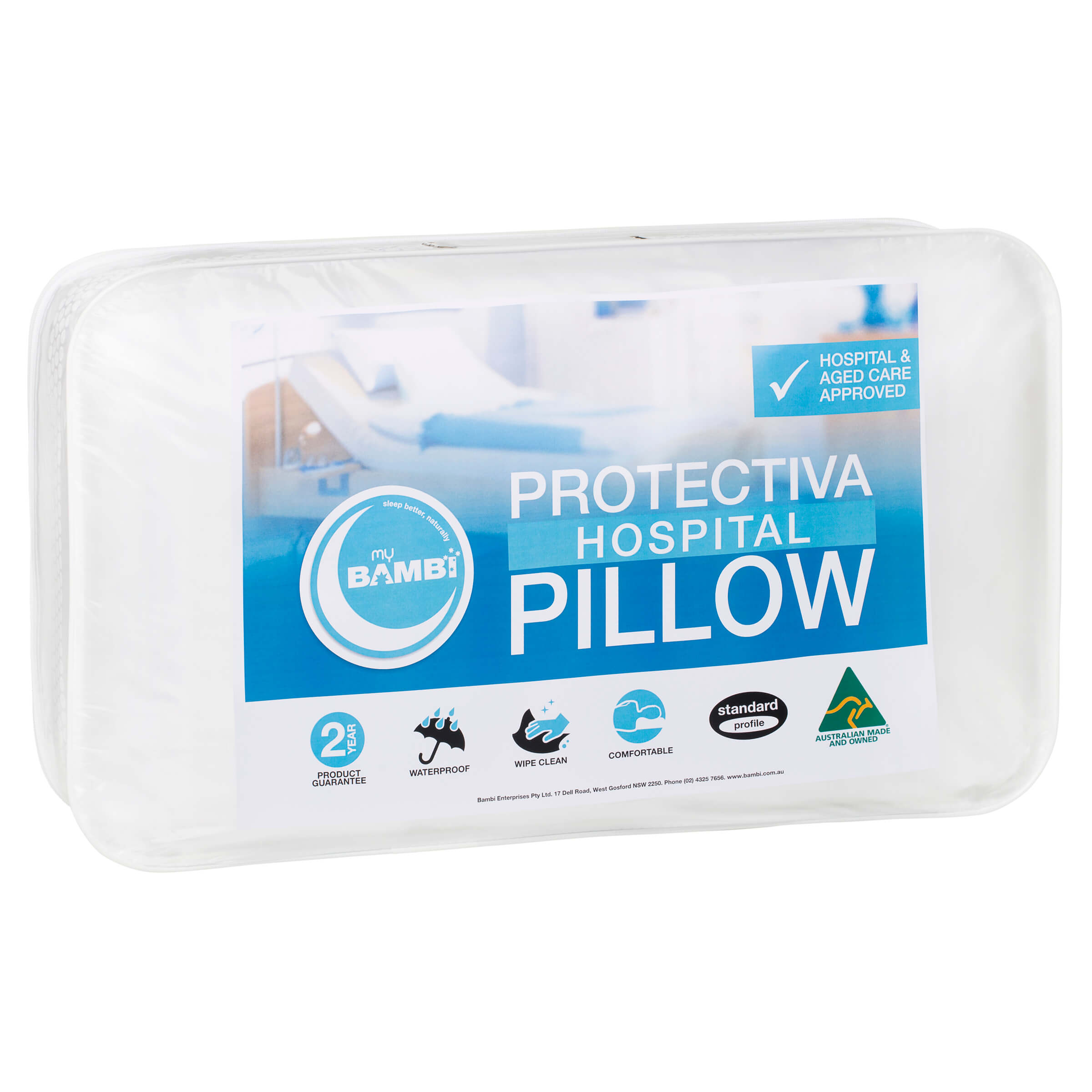 Protectiva Hospital Pillows