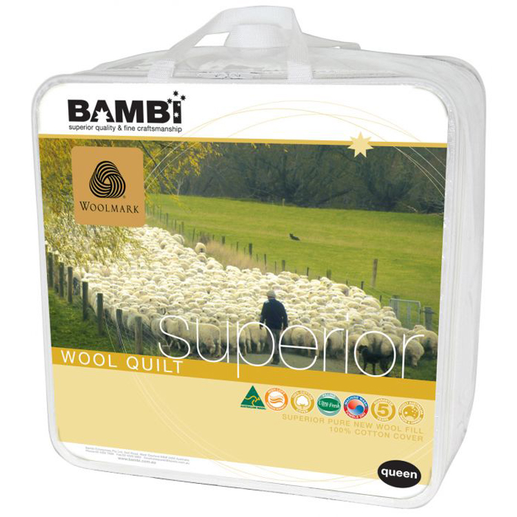 Bambi Superior Wool Quilt